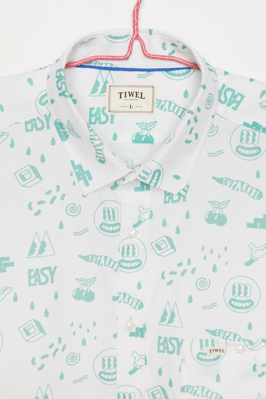 Camisa Teetee Tiwel Yeye Weller off white 01