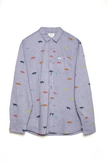 Camisa Tigers Light Blue Melange