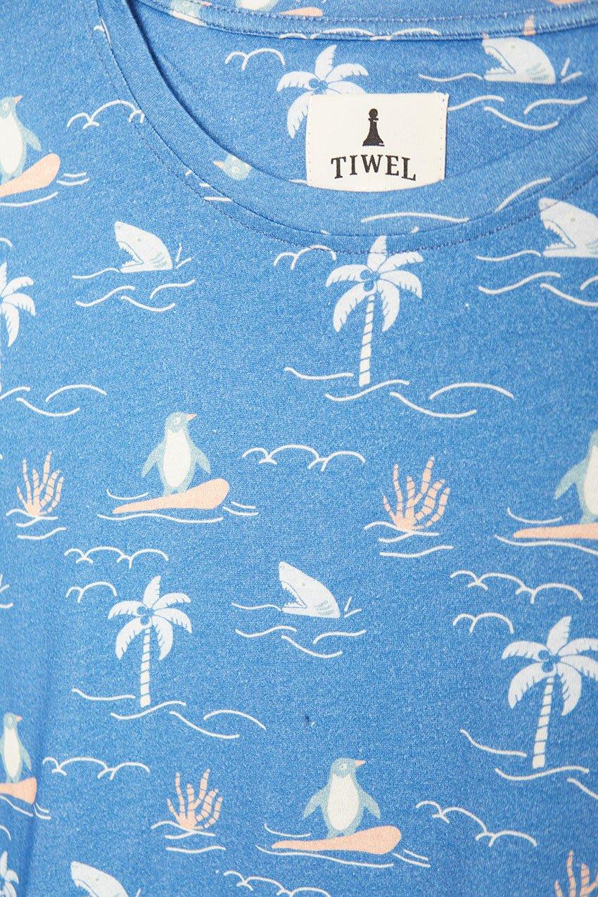 Camiseta Big Island Tiwel deep water 01