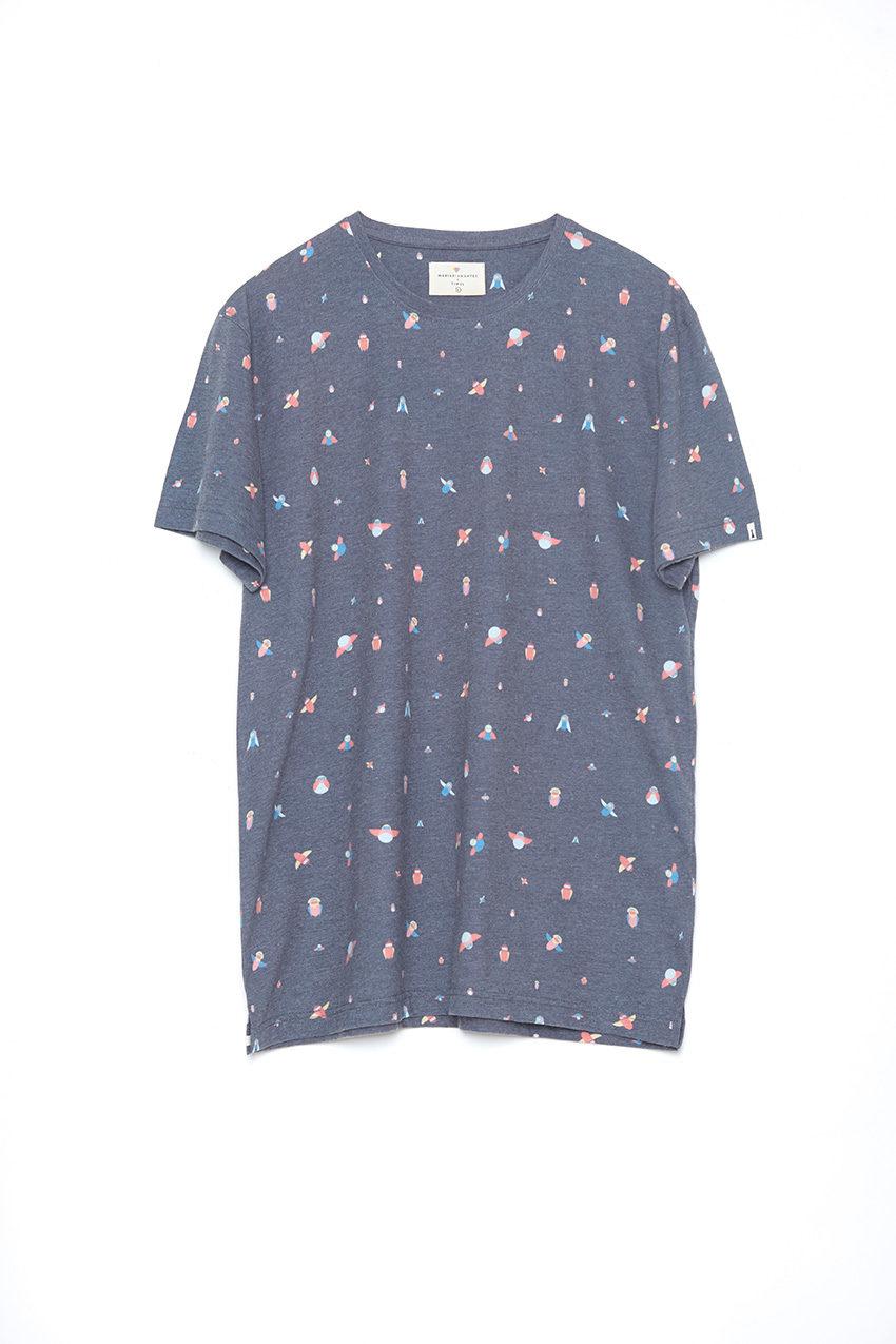 Camiseta-Birdnauts-Maria-Diamantes-Pirate-Black