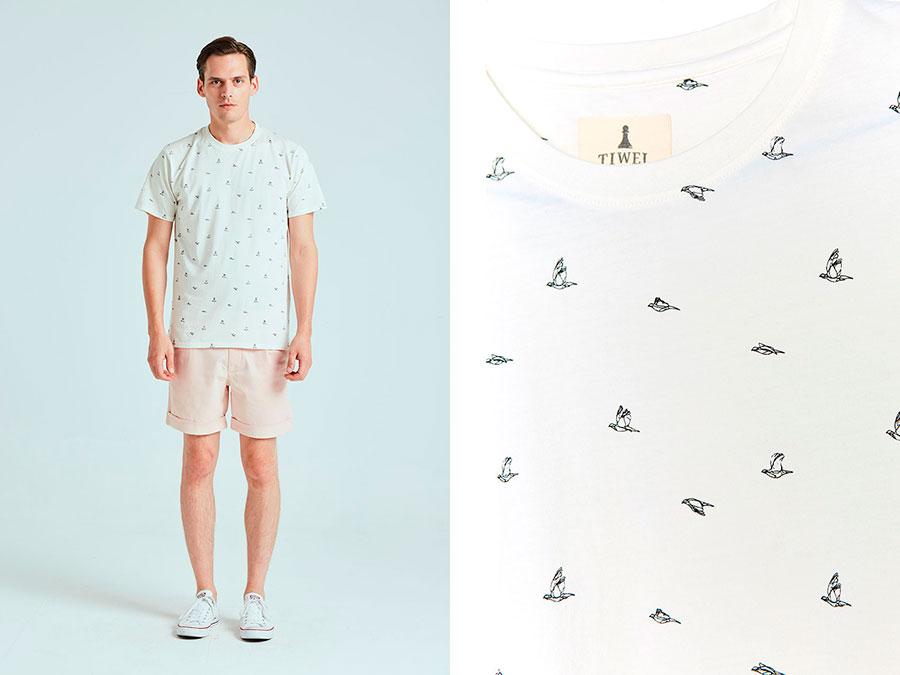Camiseta Birds Tiwel cultura inquieta taquen