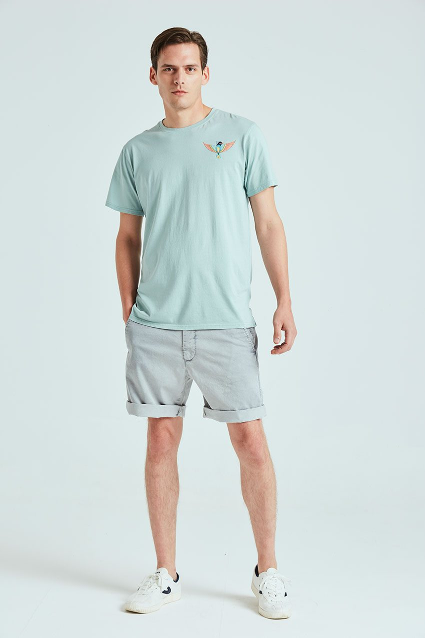 Boa Bird Tshirt blue haze 01