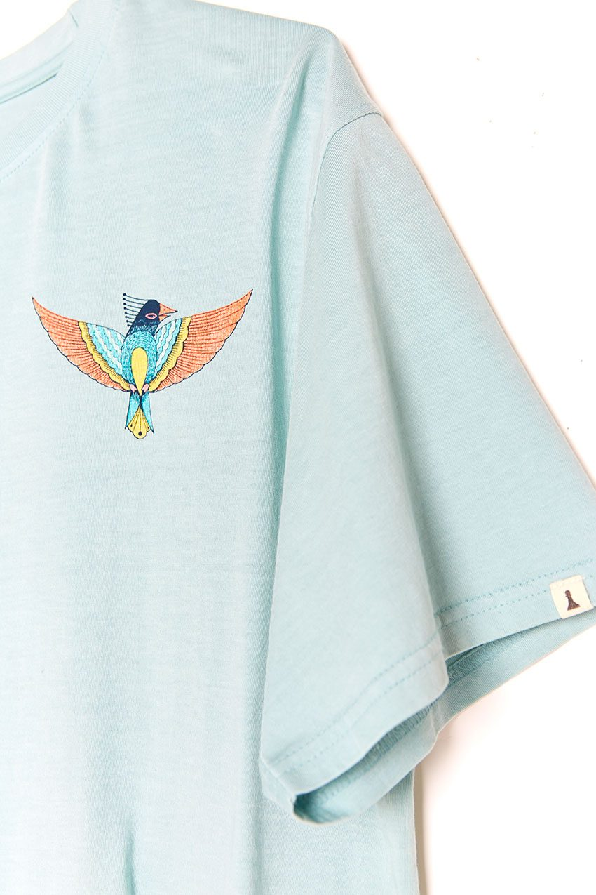 Camiseta Boa Bird blue haze 03