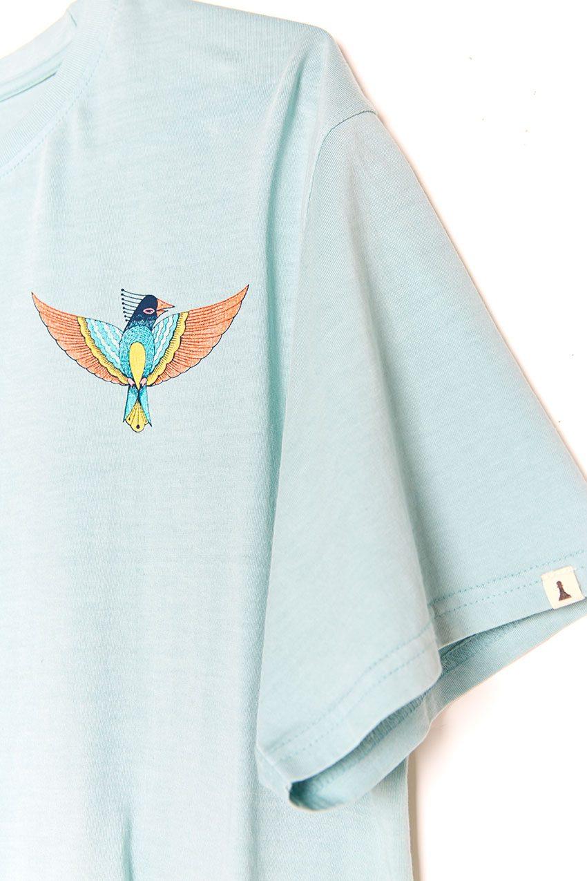 Boa Bird Tshirt blue haze 03