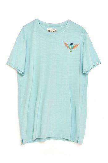 Camiseta Boa Bird blue haze