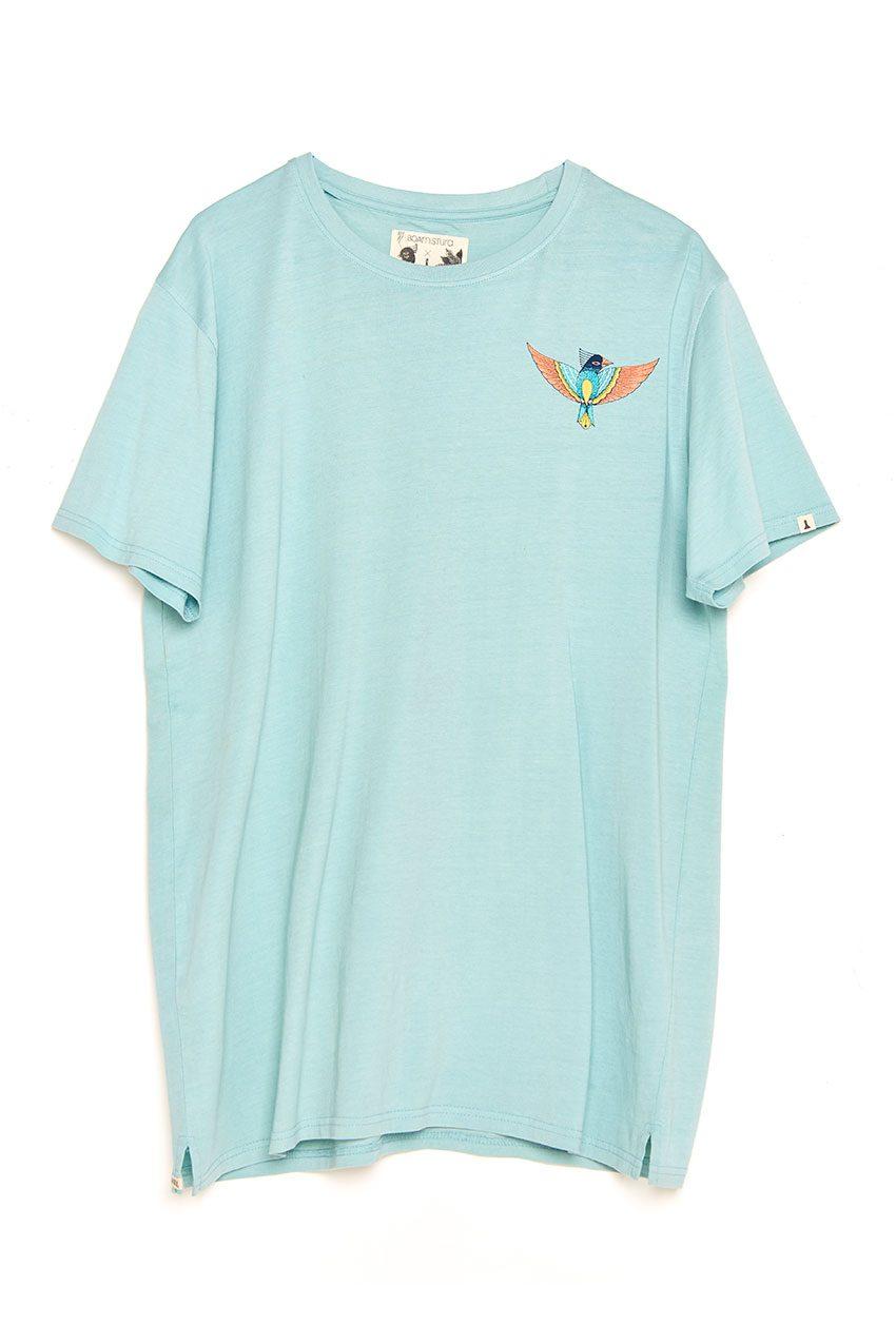 Boa Bird Tshirt blue haze
