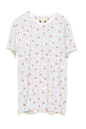 Camiseta Boa Mandela Tiwel off white