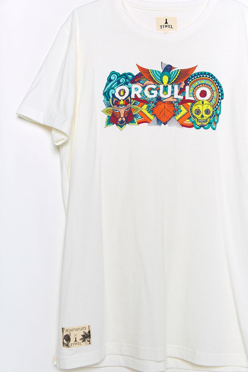 Camiseta Boa Orgullo Tiwel snow white 05
