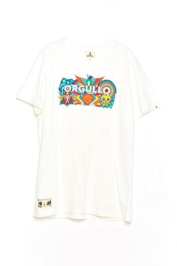 Camiseta Boa Orgullo Tiwel snow white