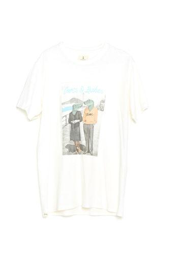 Camiseta Boyfriend Tiwel snow white