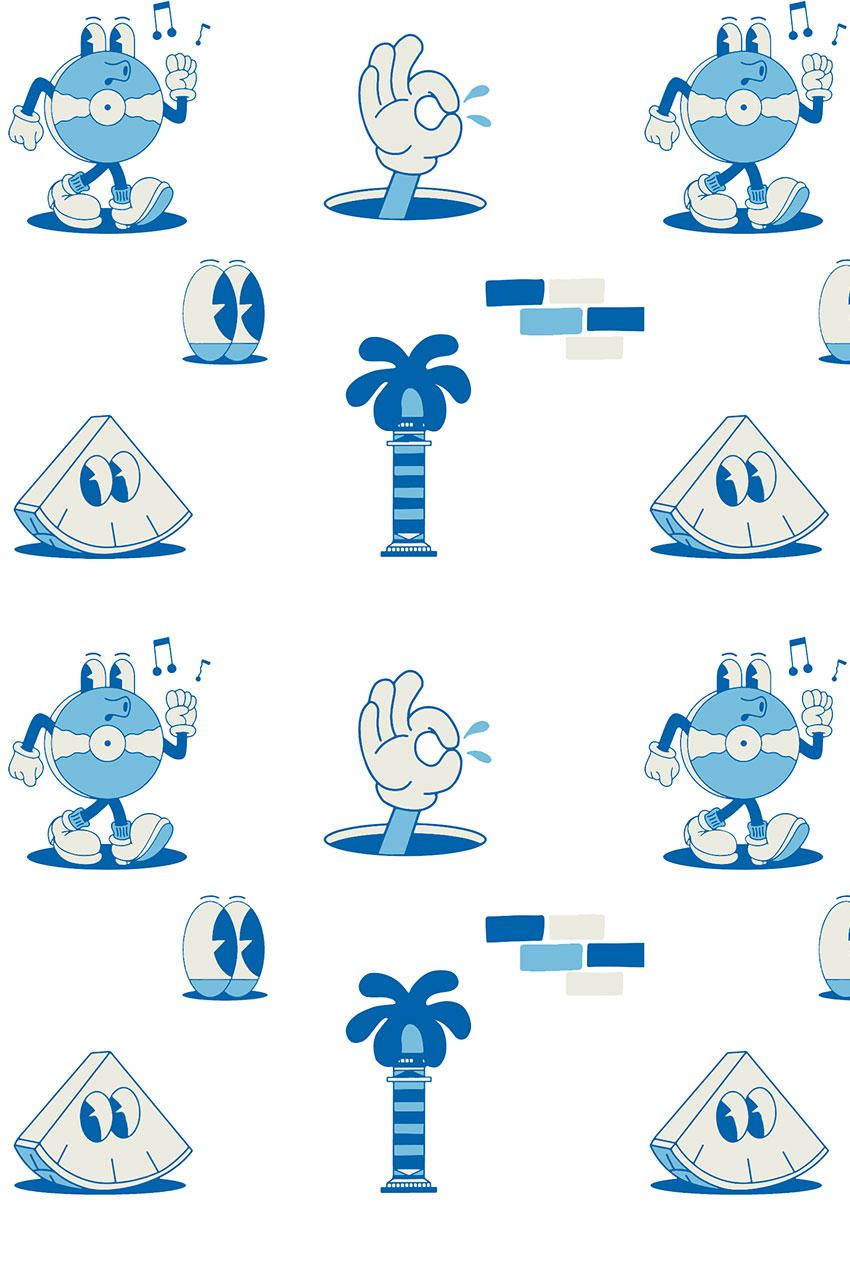 Camiseta Cairo Tiwel Yeye Weller off white 03