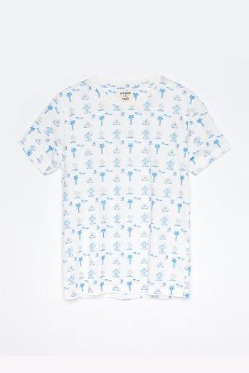 Camiseta Cairo Tiwel Yeye Weller off white