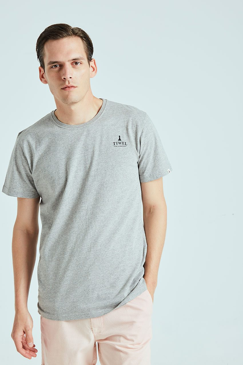 Camiseta Closed Tiwel grey melange 03