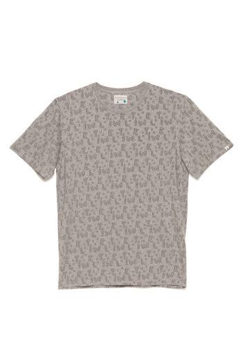 Camiseta Dice Toy David Sanchez Mid Grey Melange 01