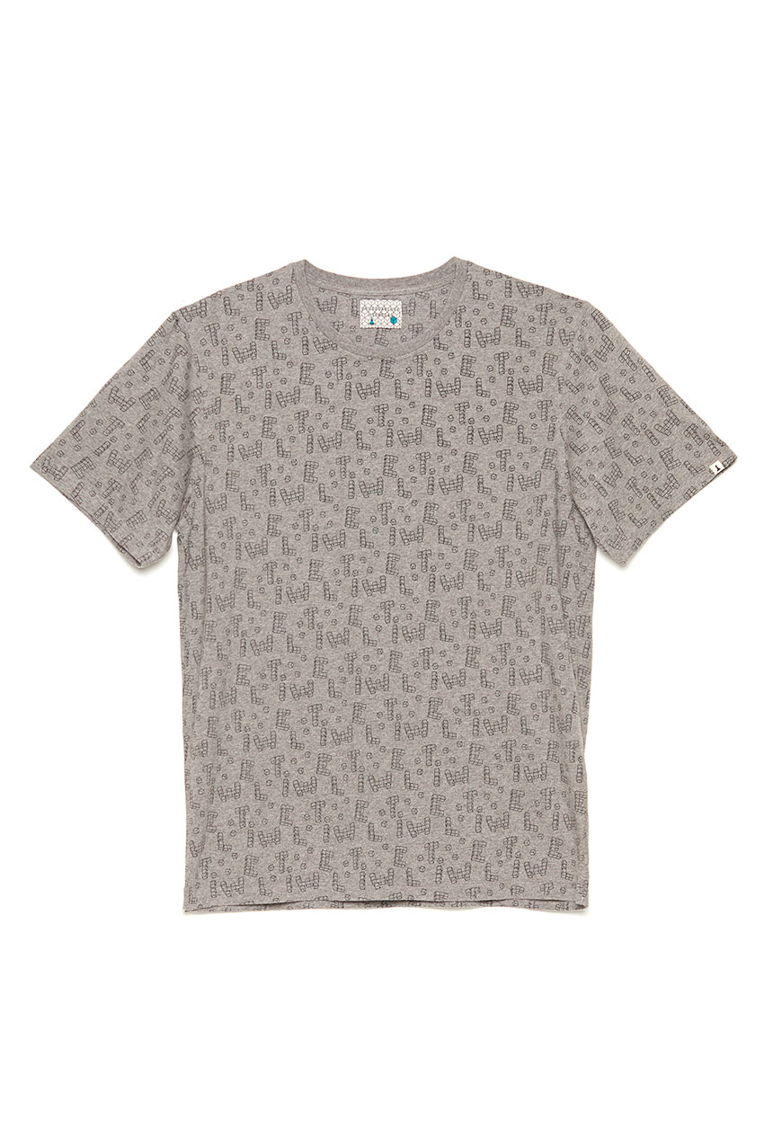 Camiseta Dice Toy David Sanchez Mid Grey Melange 01