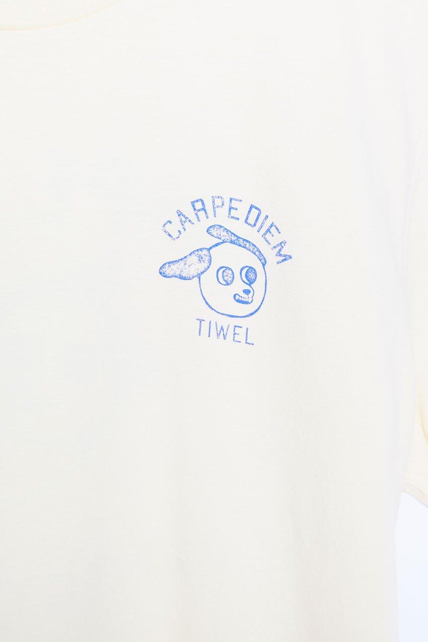 Camiseta Diem Tiwel double cream 01