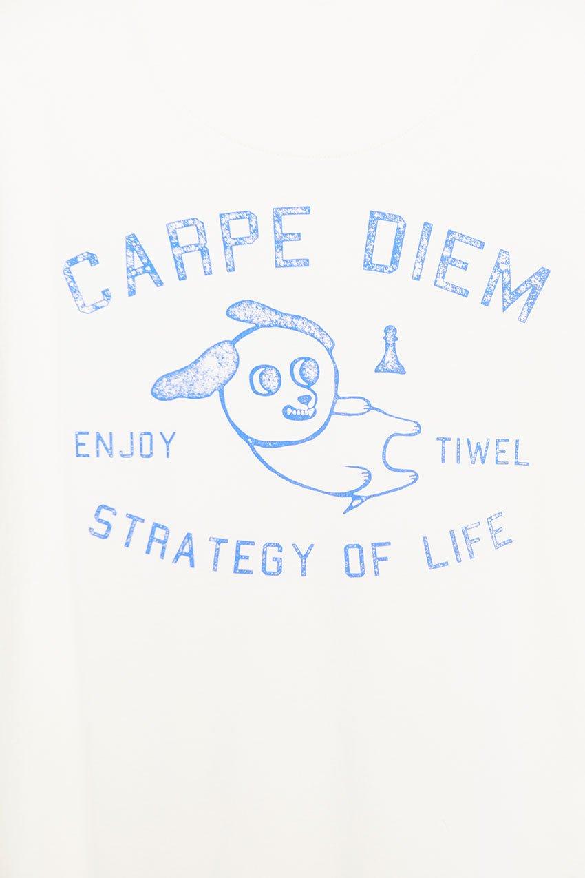 Camiseta Diem Tiwel double cream 03