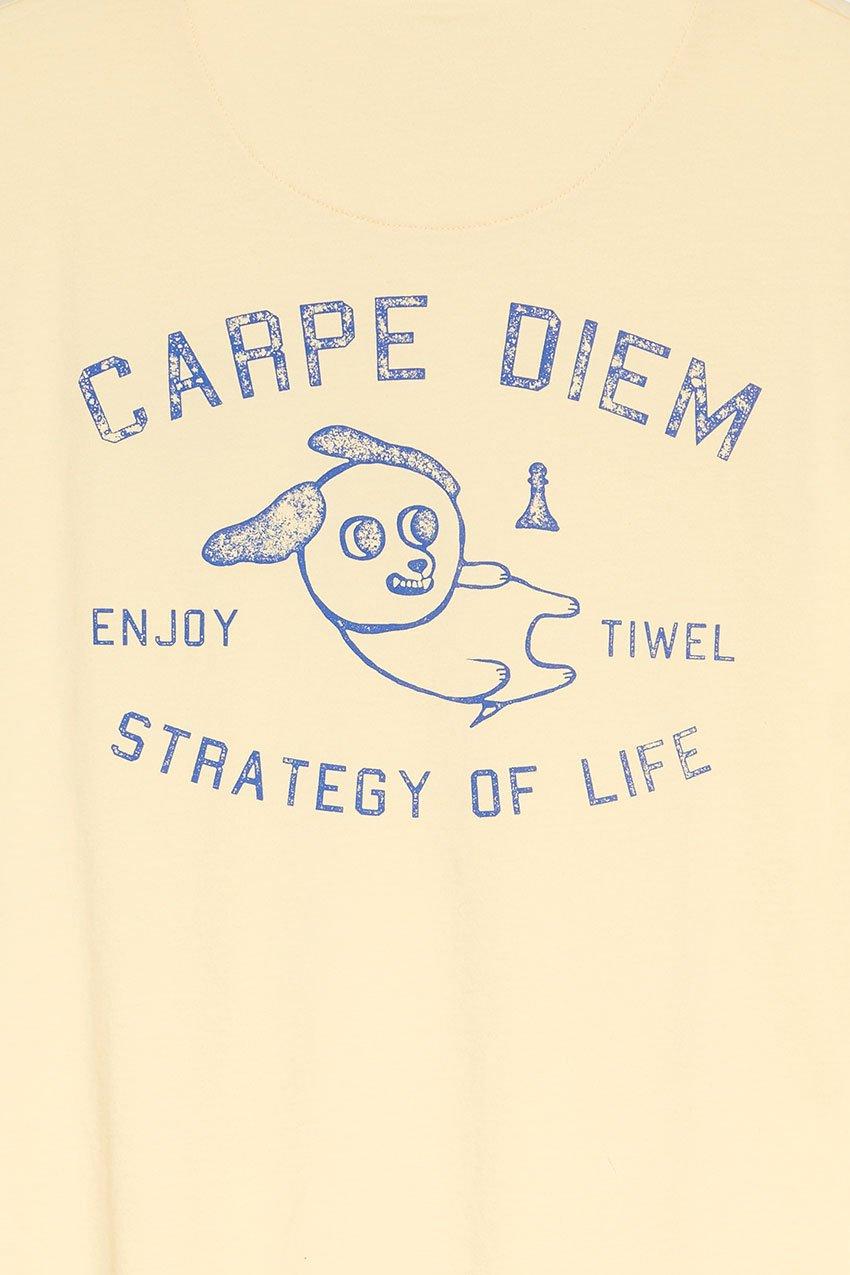 Camiseta Diem Tiwel double cream 04