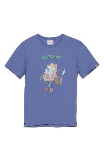 Camiseta Flycat David Sanchez Brigade Blue 01