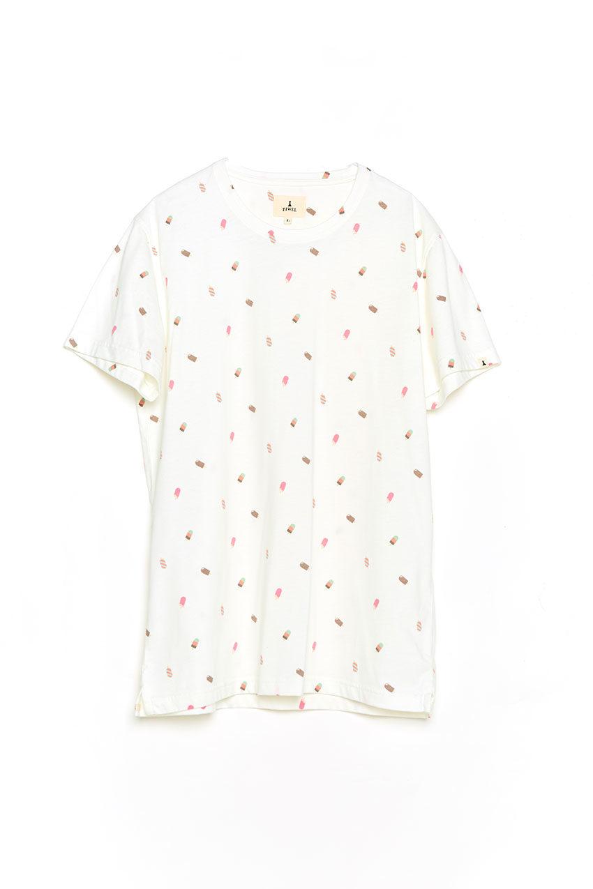Camiseta Fresh Tiwel snow white