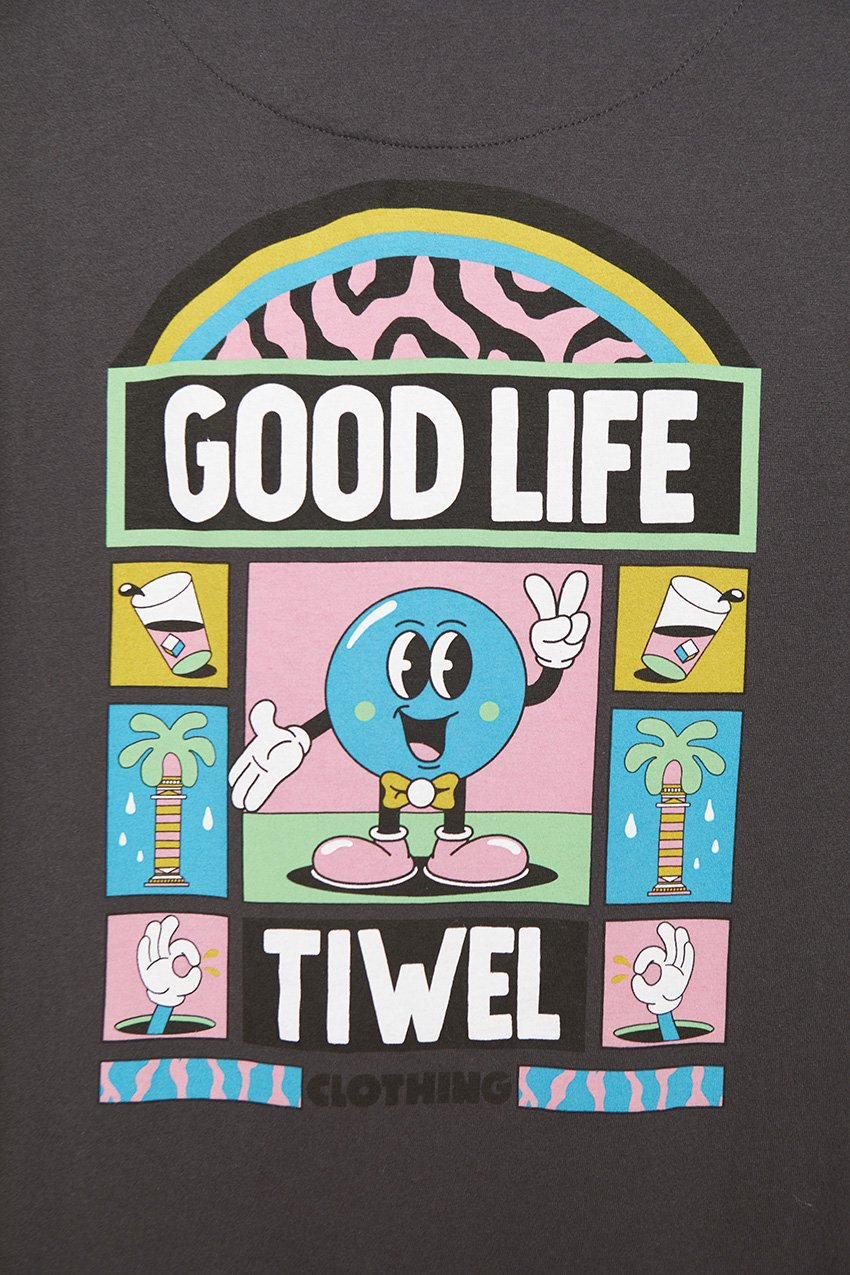 Camiseta Good Life Tiwel Yeye Weller pirate black 03