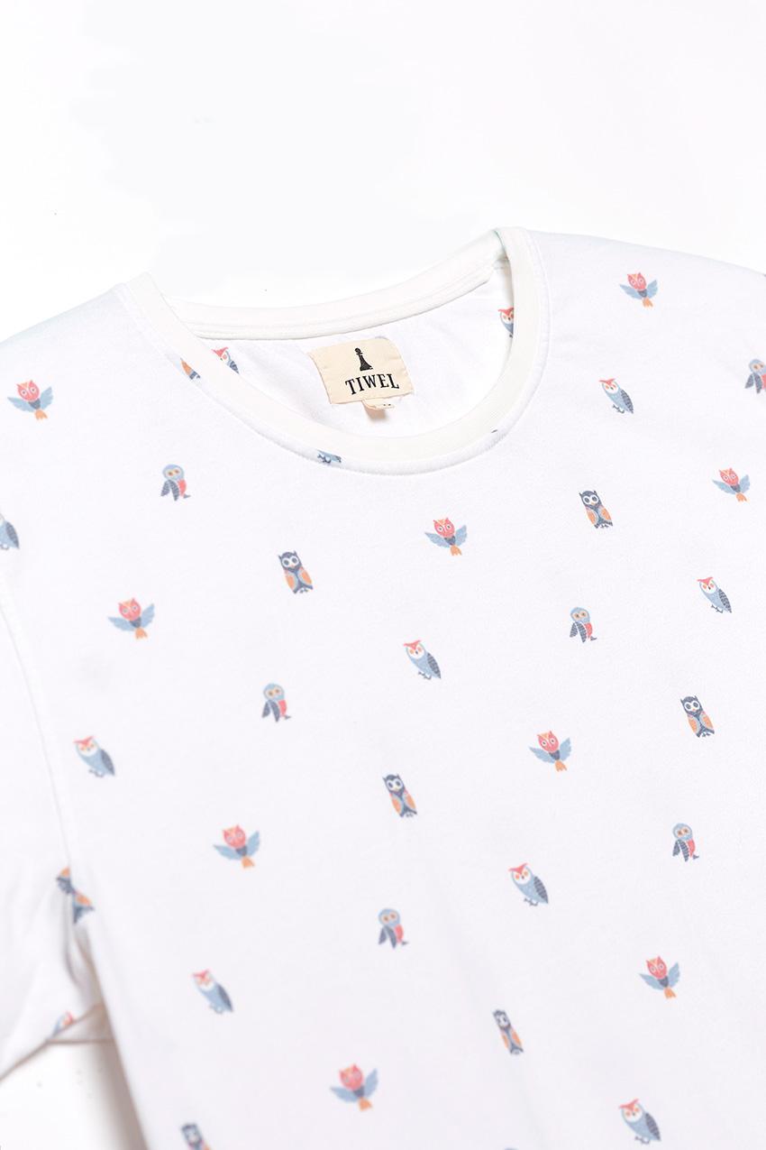 Camiseta Hibou Snow White 02