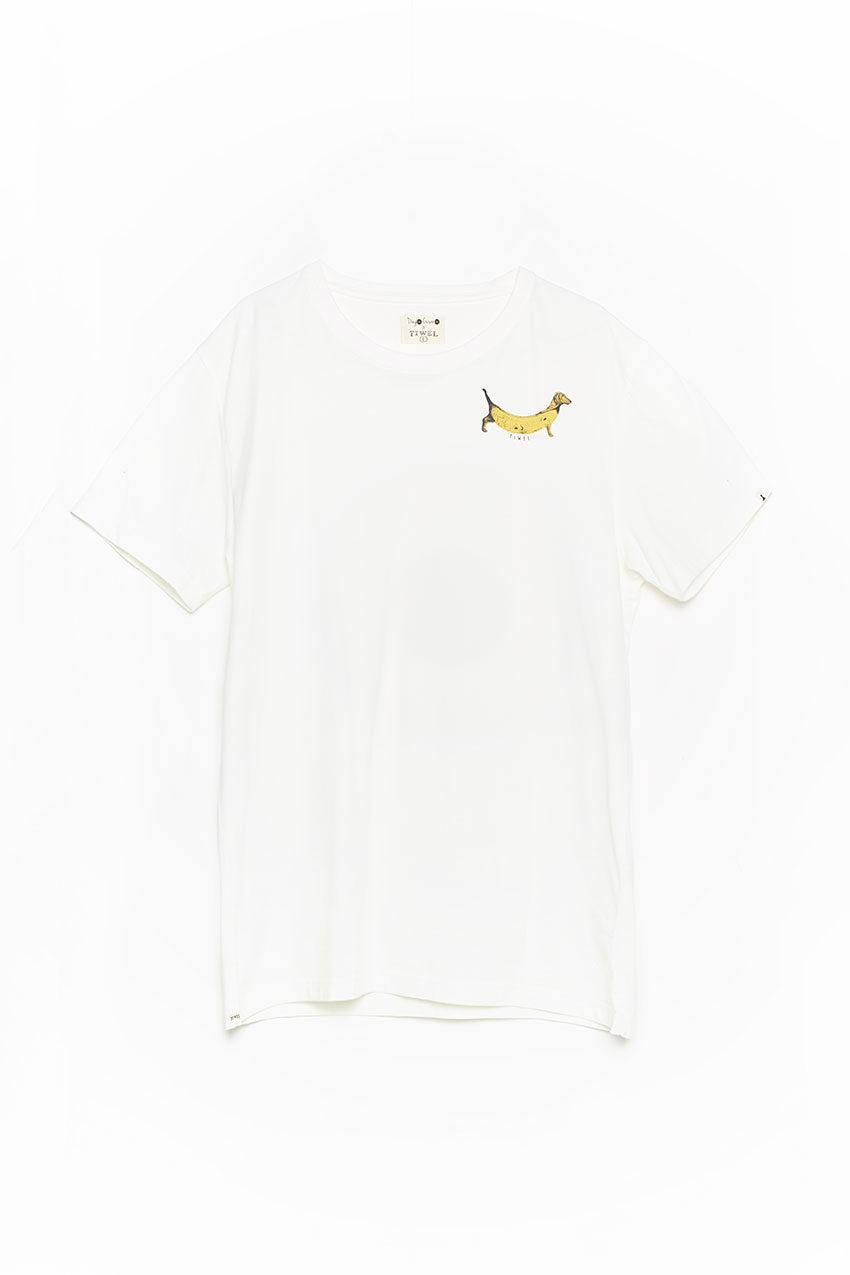 Camiseta Hotdog Tiwel snow white