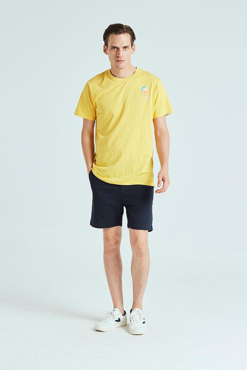 Ice Baby Tshirt Tiwel ochre 01