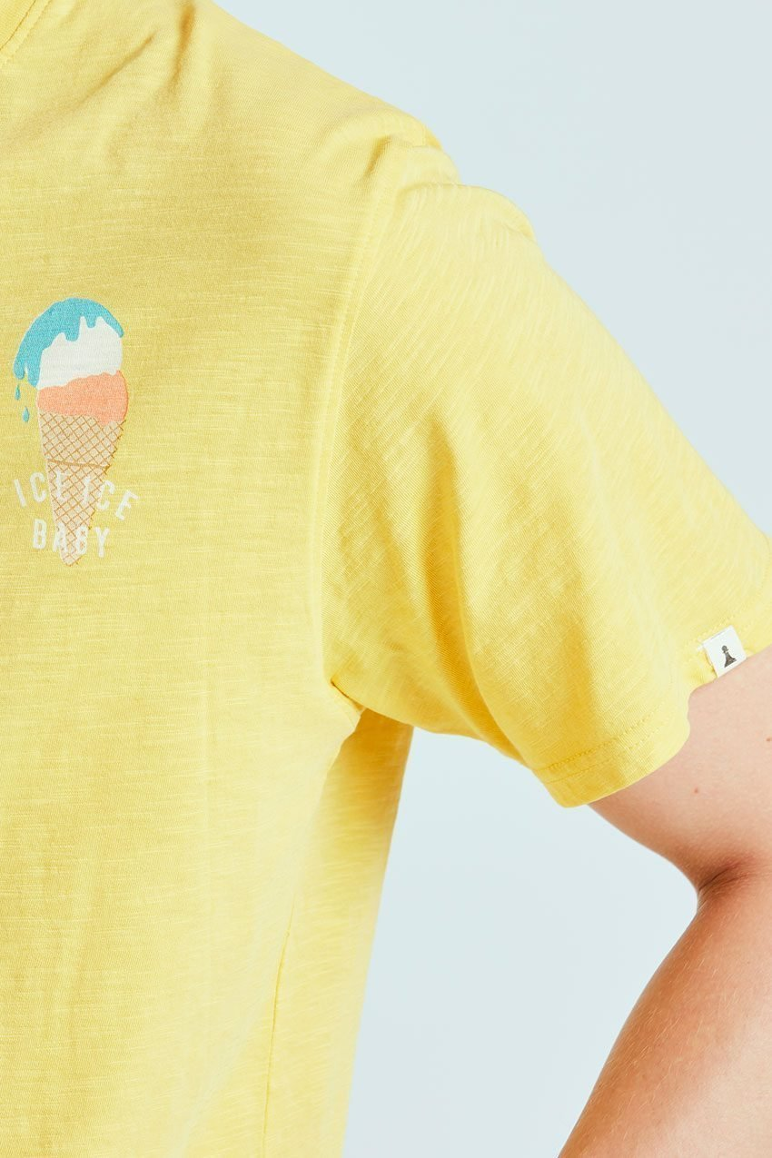 Camiseta Ice Baby Tiwel ochre 02