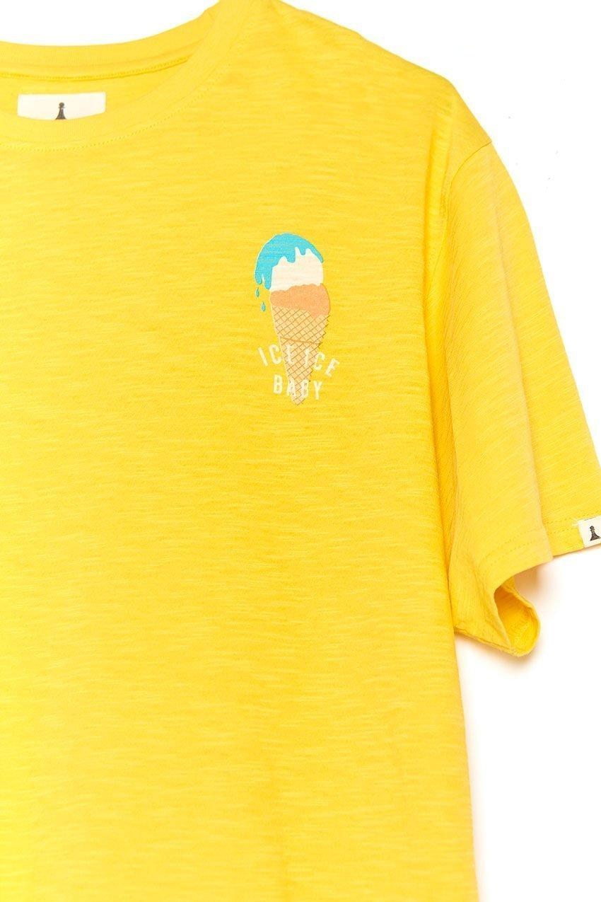 Camiseta Ice Baby Tiwel ochre 03