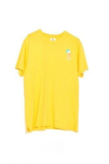 Camiseta Ice Baby Tiwel ochre
