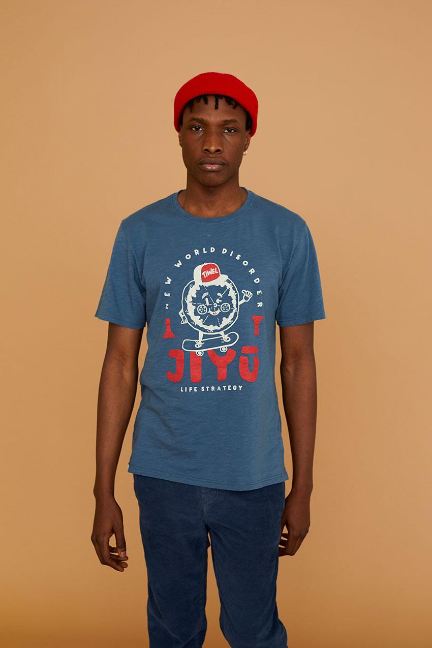 Camiseta Jiyu Real Teal 08