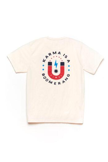 Karma Tshirt Off White 02