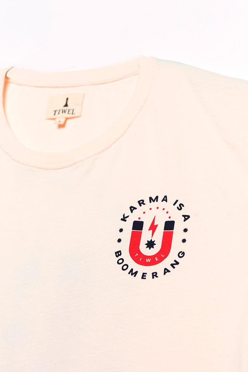 Karma Tshirt Off White 03