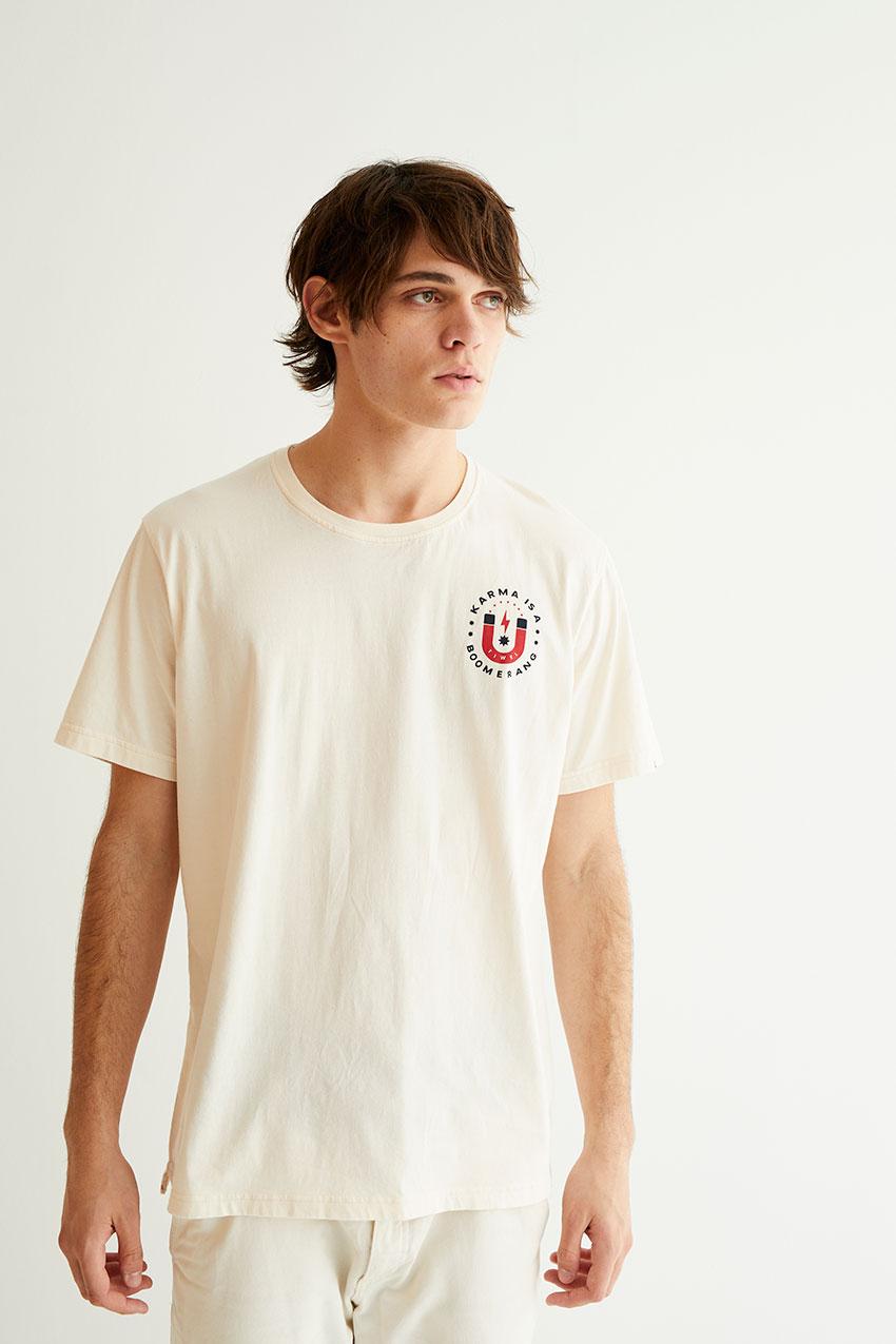 Karma Tshirt Off White 06