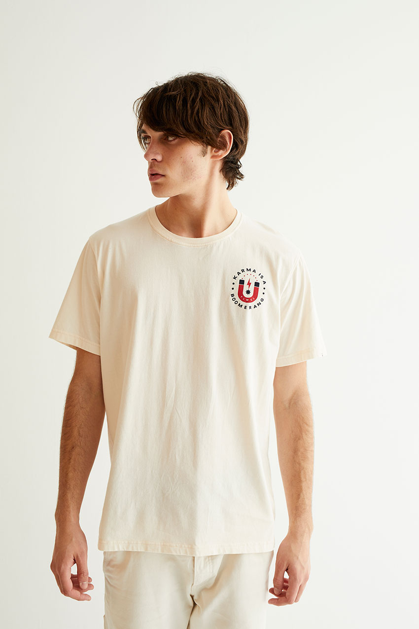 Karma Tshirt Off White 08