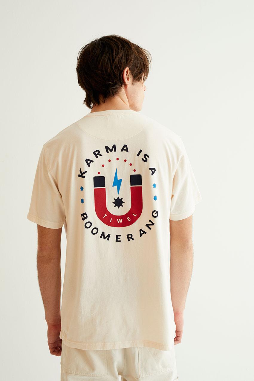 Karma Tshirt Off White 09