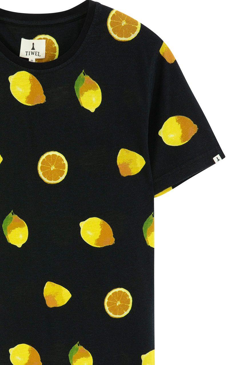 Camiseta Lemonade Tiwel faded black 02
