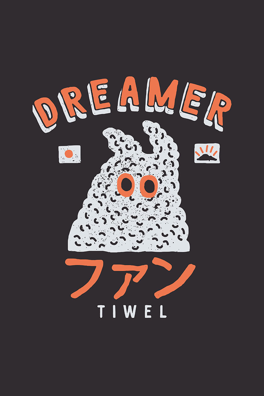 Camiseta Lemy Tiwel pirate black 05