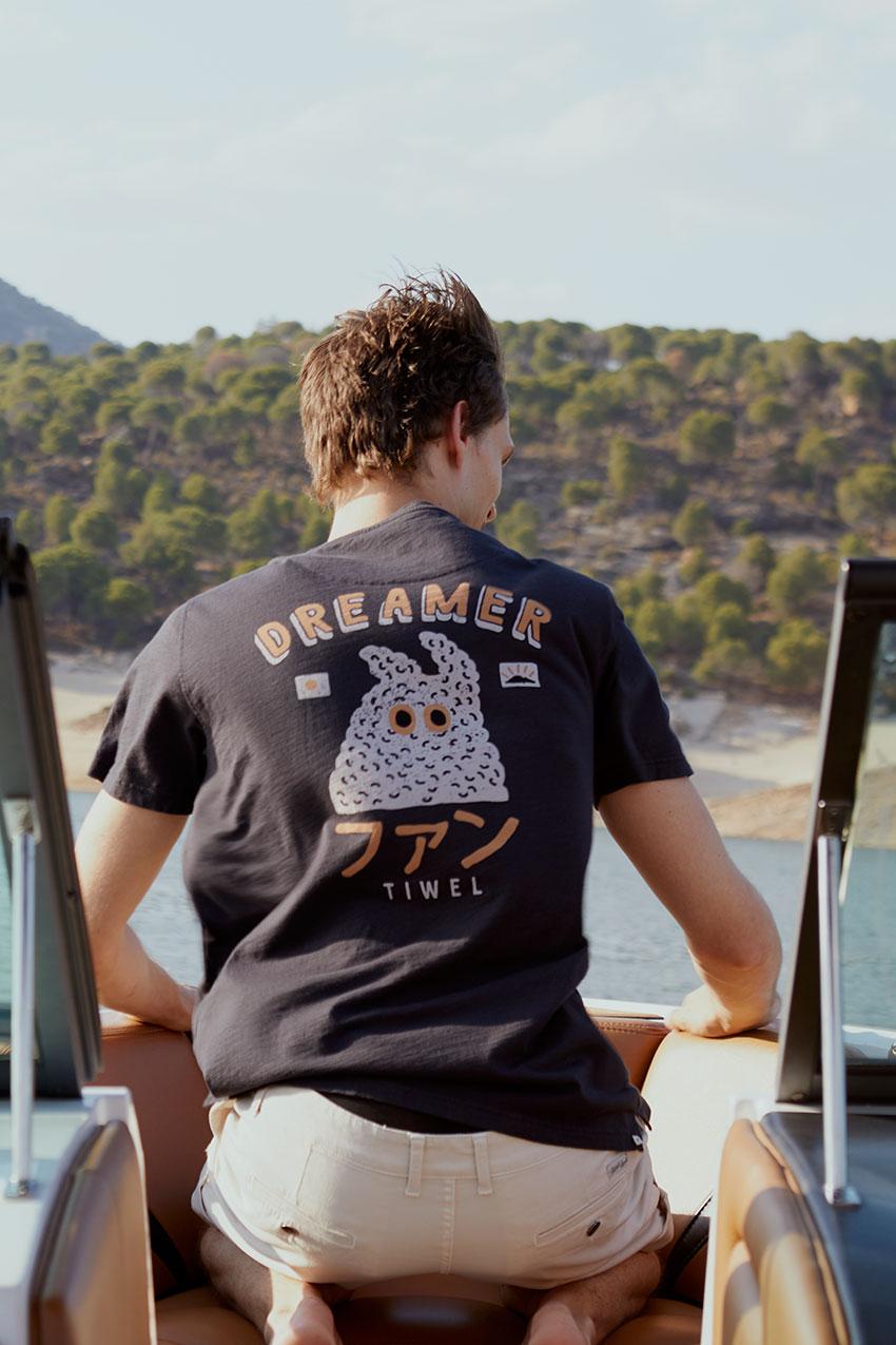 Camiseta Lemy Tiwel pirate black 06