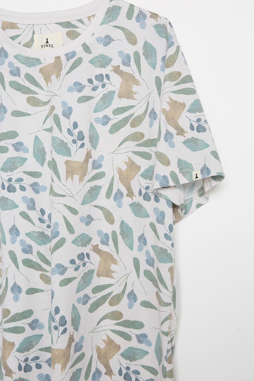 Camiseta Llamas Tiwel turtledove 02