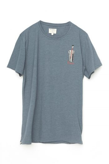 Lottery Tshirt Tiwel Dark Graphite Melange