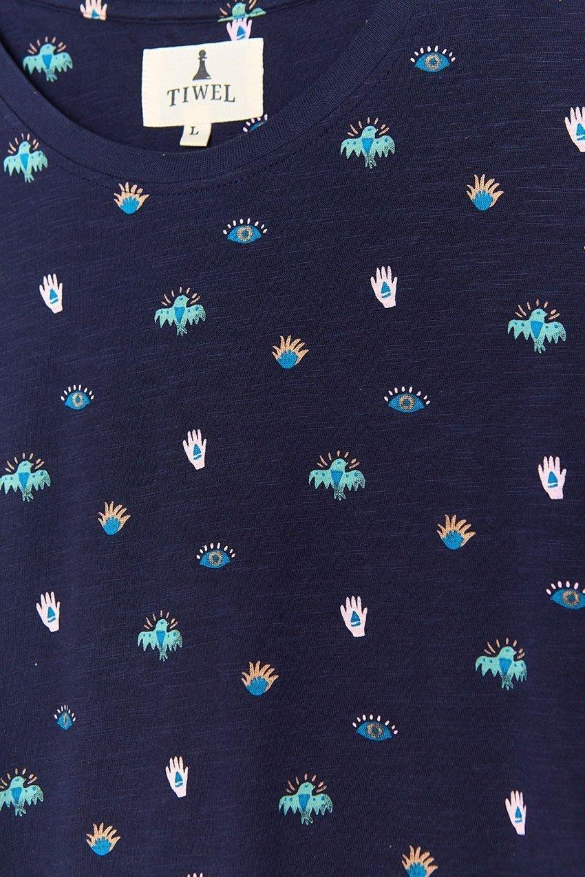 Mini Tshirt Tiwel dark navy 04
