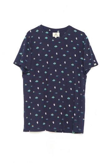 Camiseta Mini Tiwel dark navy