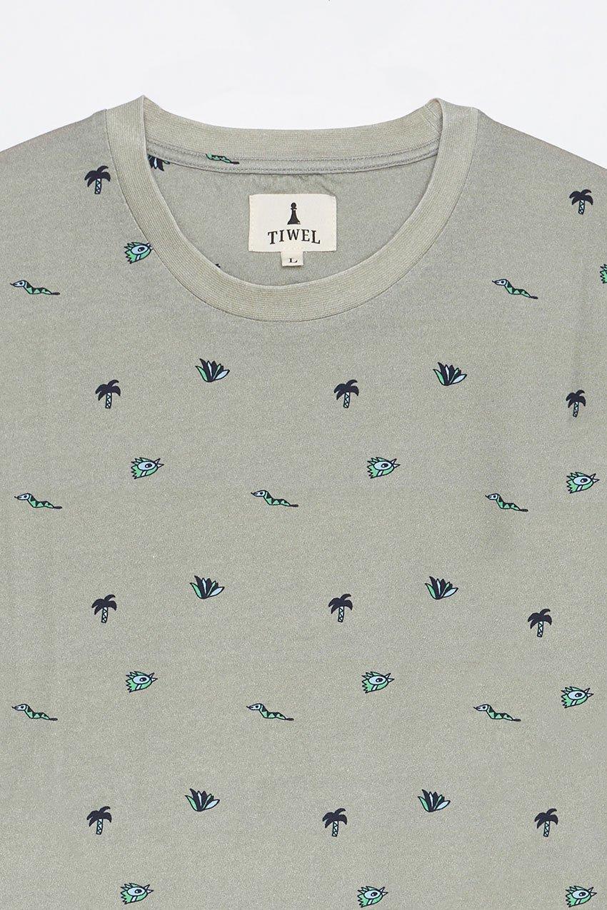 Camiseta Neoilu Tiwel seagrass 07