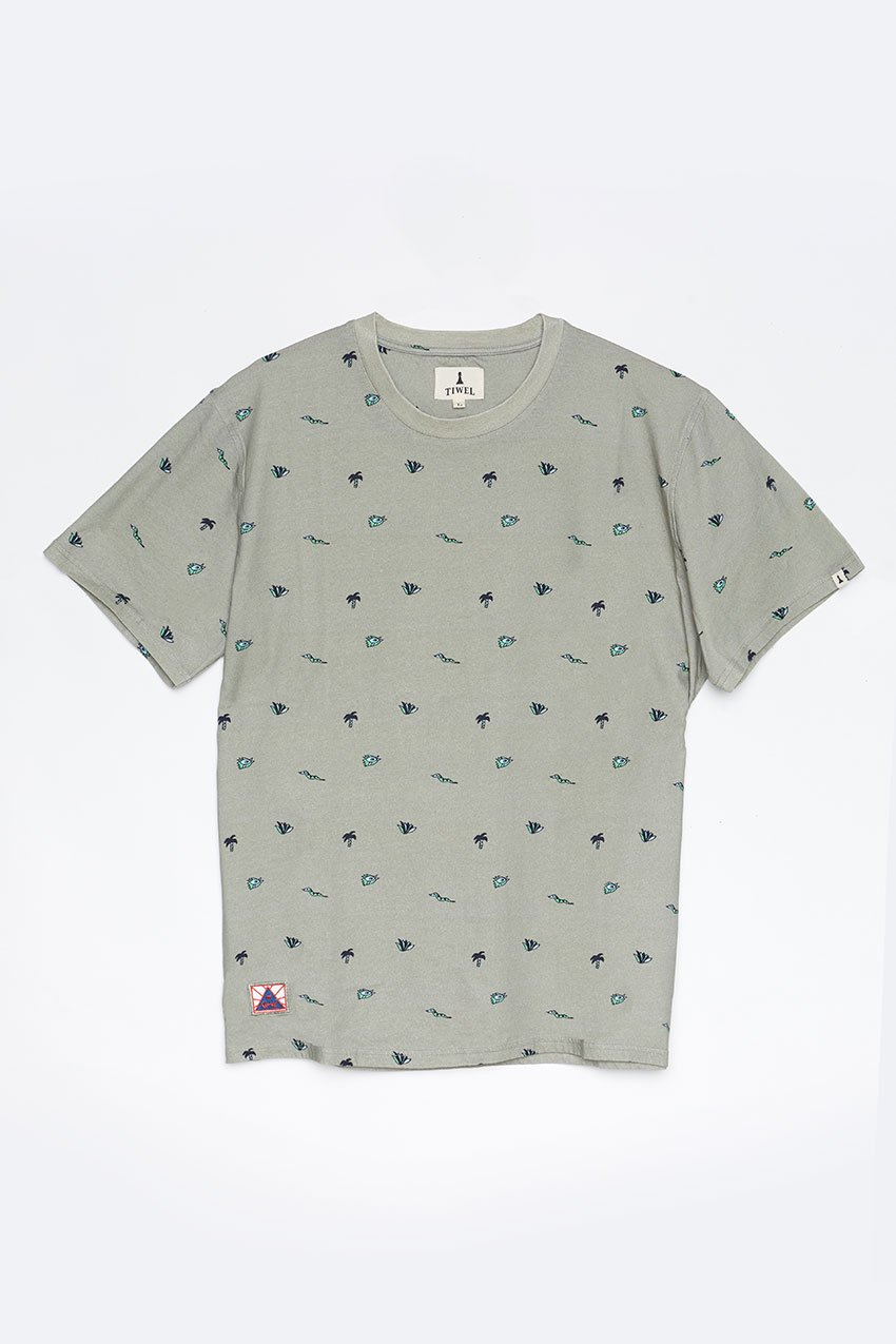 Camiseta Neoilu Tiwel seagrass