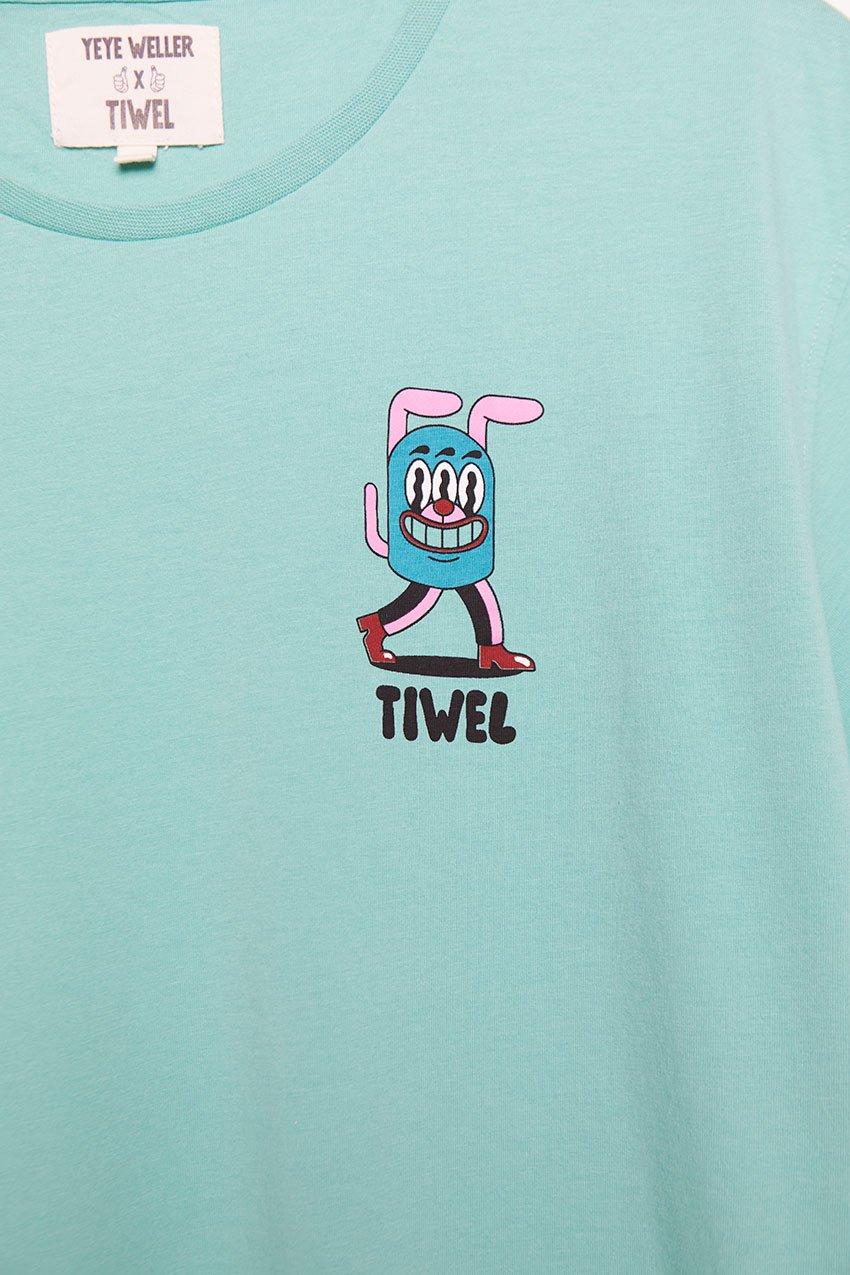 Camiseta Newa Tiwel Yeye Weller jade cream 02