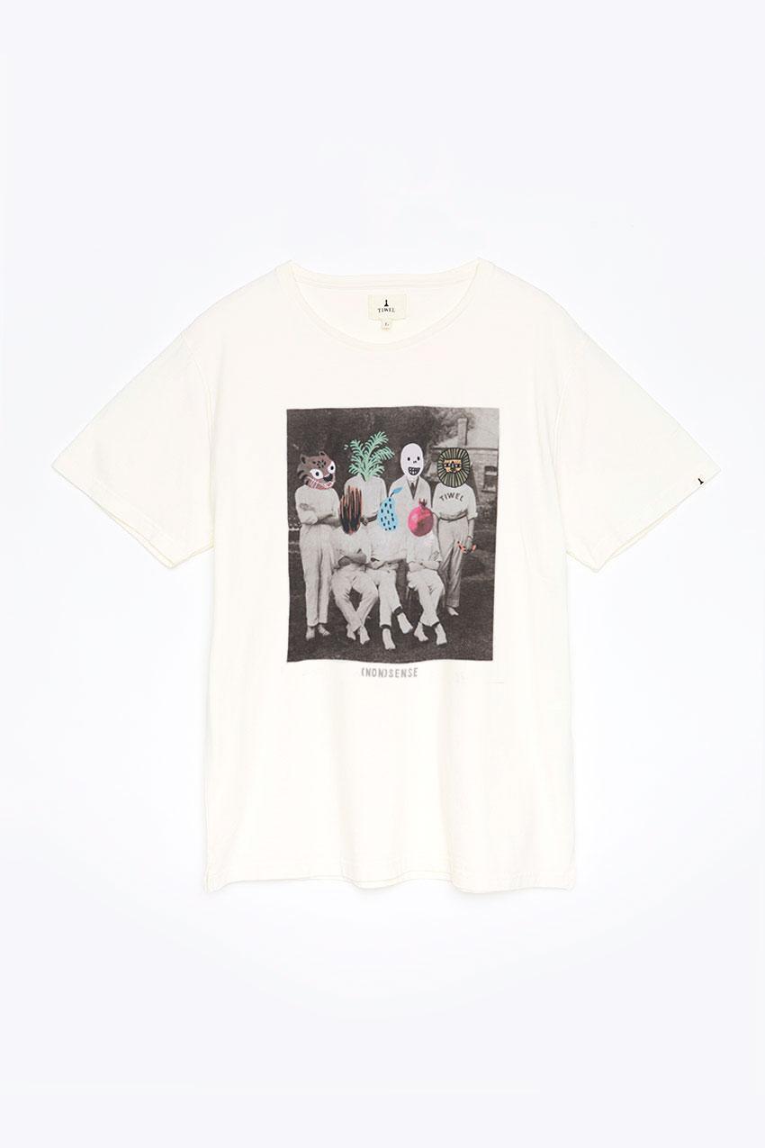 Camiseta Nonsense Tiwel off white 00