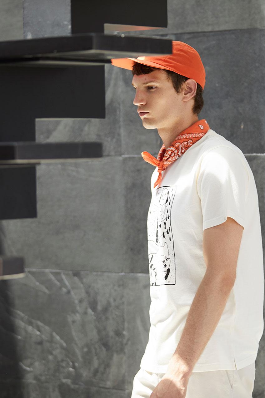 Camiseta Off Line Tiwel off white 05