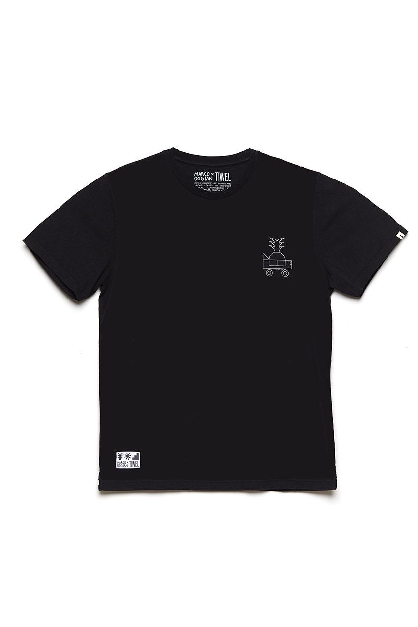 Oggi Car Tshirt Oggian Black 01